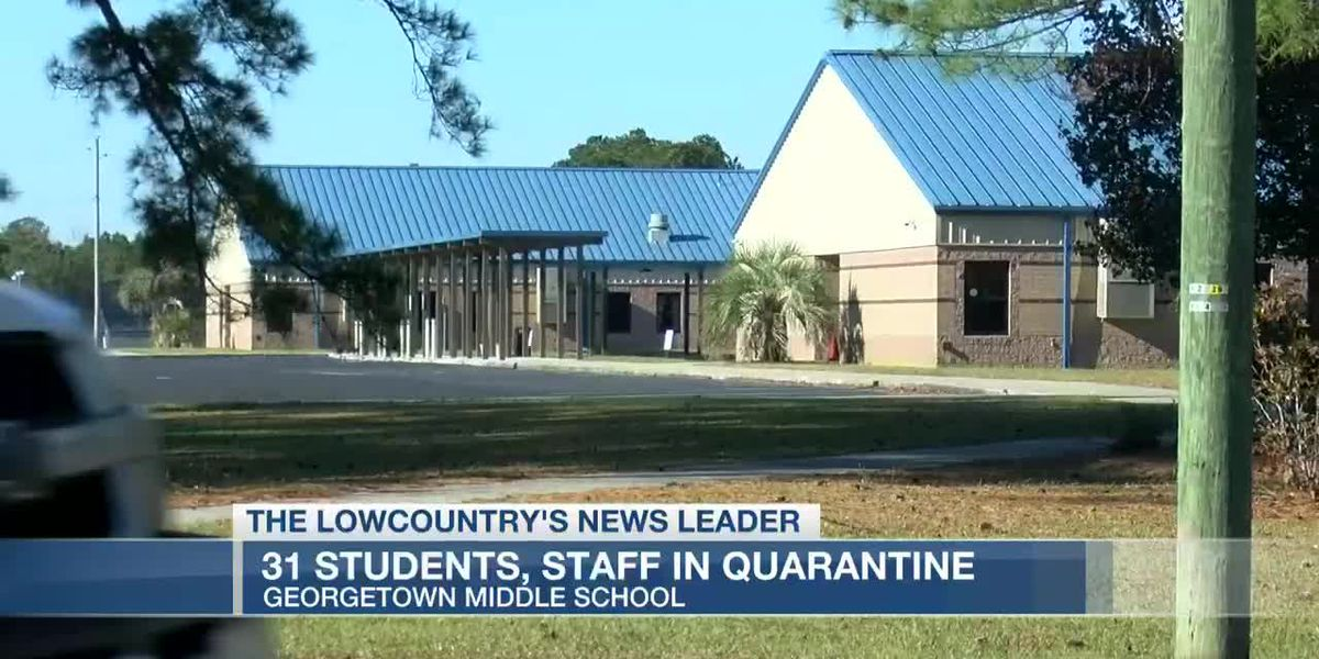 VIDEO: District: 31 students, staff at Georgetown Middle School have been quarantined