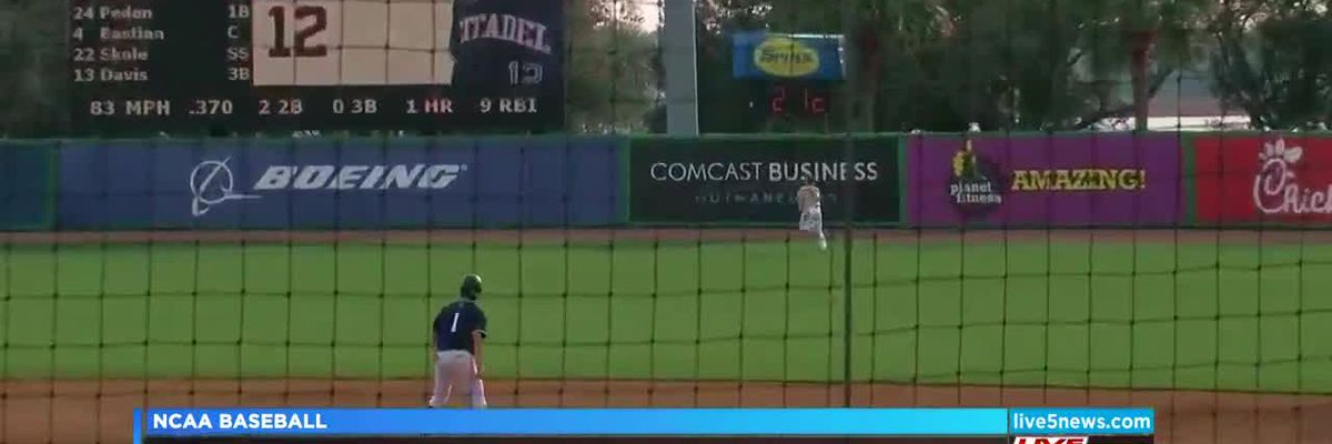 VIDEO: The Citadel takes game 2 over North Alabama