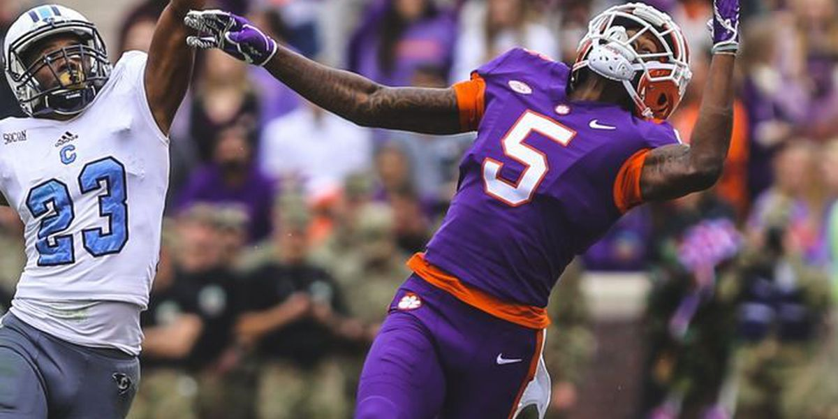 Clemson blows out The Citadel in home finale