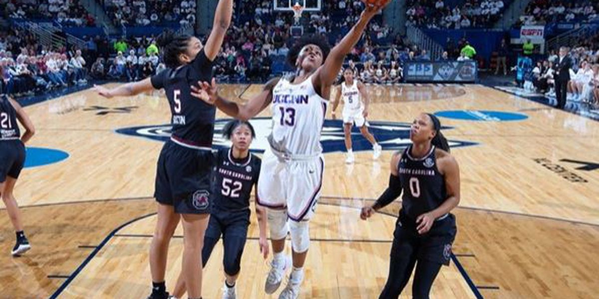 Gamecocks Women Defeated by #4/5 UConn on the Road