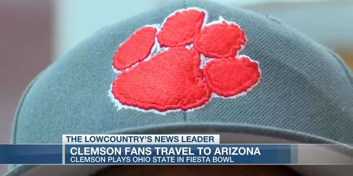 VIDEO: Clemson fans traveling to Arizona for Fiesta Bowl