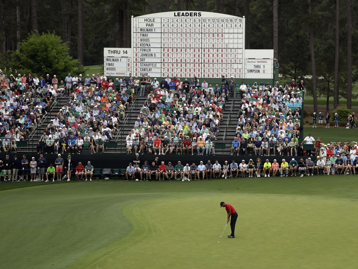 No roars at Augusta as Masters to be played without fans