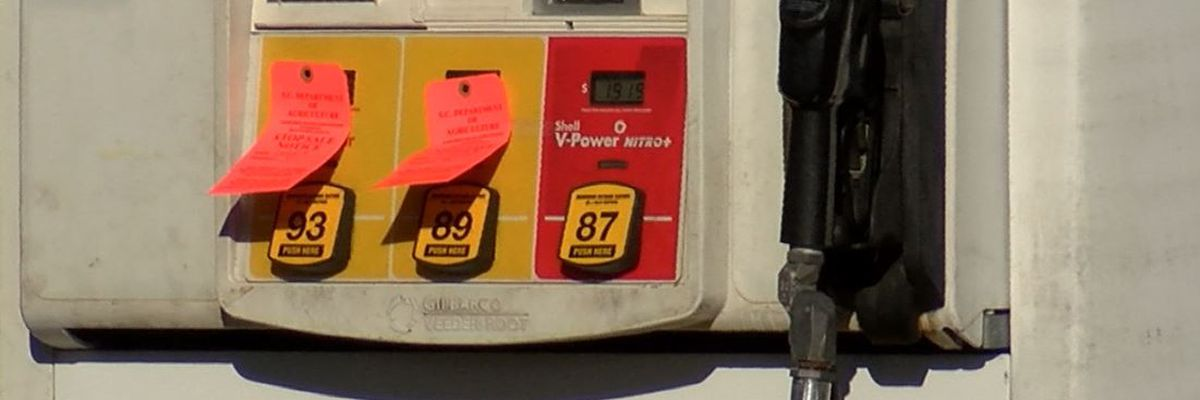 N. Charleston gas stations ordered to stop sale of some gas grades over water in tanks
