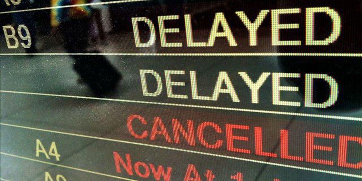 Northeast weather cancels flights at Charleston airport