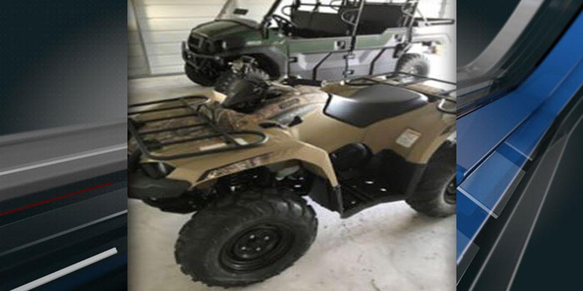Deputies looking for two stolen ATVs in Georgetown County