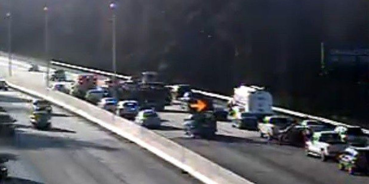 Wreck cleared on I-26 EB