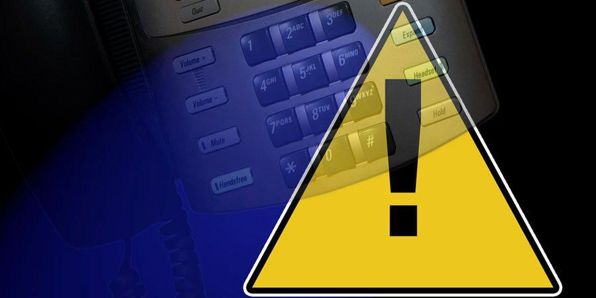 Utility warns of phone scam targeting customers