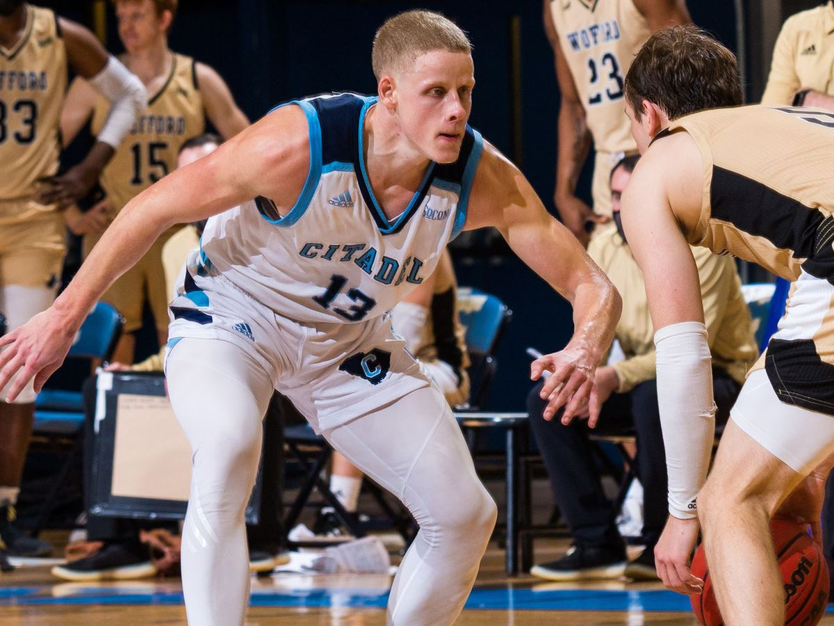 Rice scores 21 to lift The Citadel over Wofford 77-69