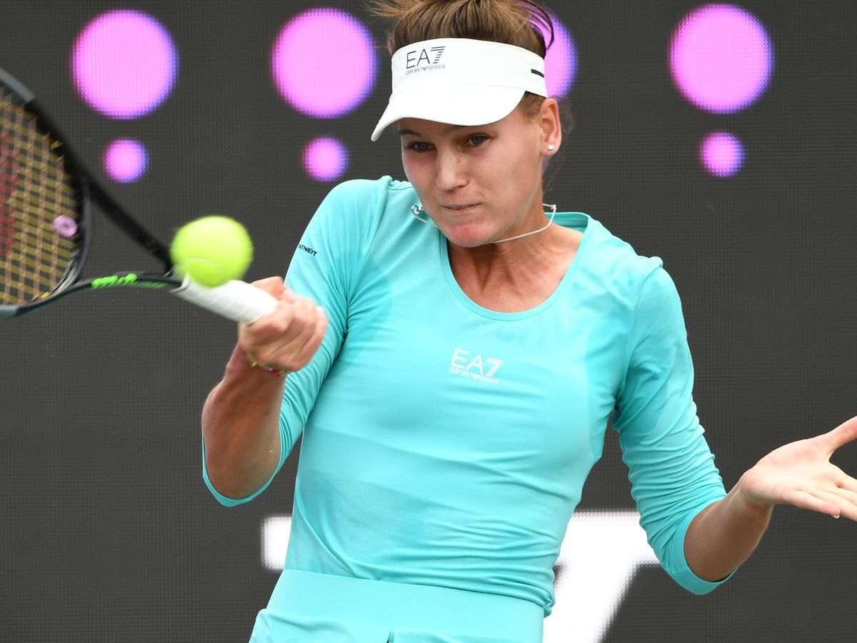 No. 15 seed Kudermetova, Kovinic set for Volvo Car final