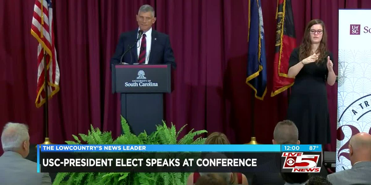 VIDEO: UofSC President-elect holds news conference
