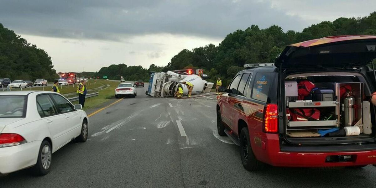 I-526 WB traffic in Mt. Pleasant getting back to normal after crews clear accident