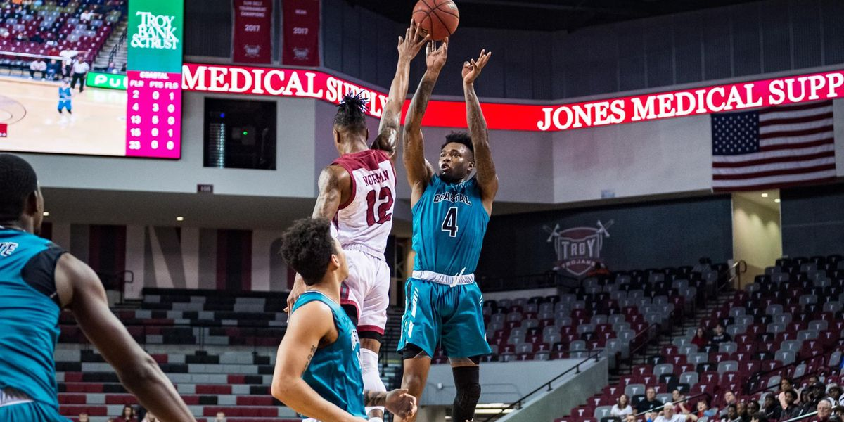 Coastal Carolina Opens Sun Belt Play with Win at Troy