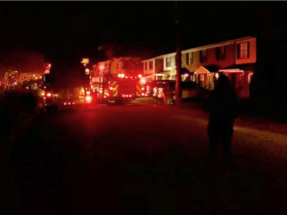 Firefighters respond to fire at N. Charleston home