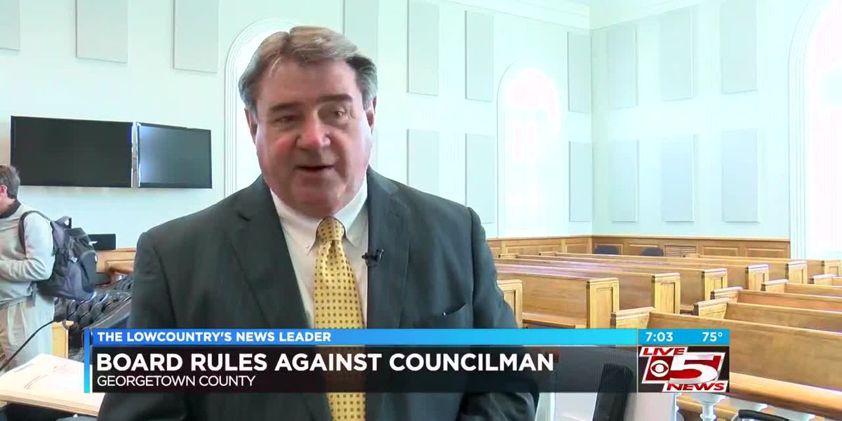 VIDEO: Board rules against Georgetown County Councilman in residency issue