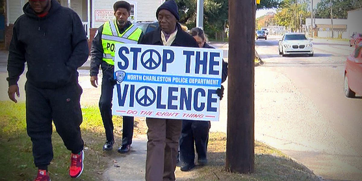 North Charleston police responds to 20th shooting death this year with 'Stop The Violence March'