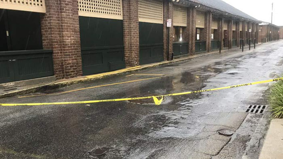 Downtown Charleston escapes major flooding from Isaias