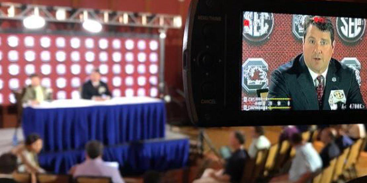 Gamecocks at SEC Media Days