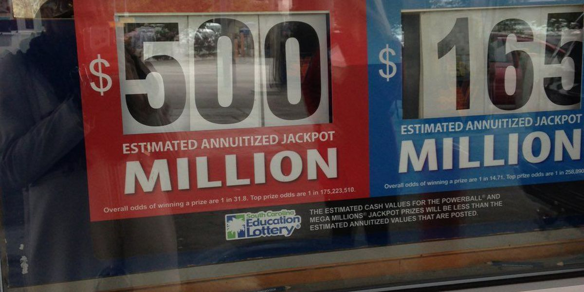 Numbers for Powerball $500 million jackpot