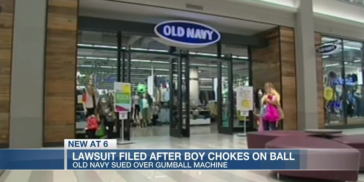 VIDEO: Woman sues Old Navy after grandson dies following choking incident