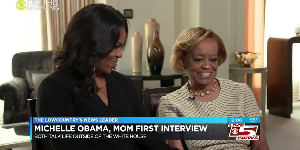 VIDEO: Michelle Obama, mother talk about life after the White House