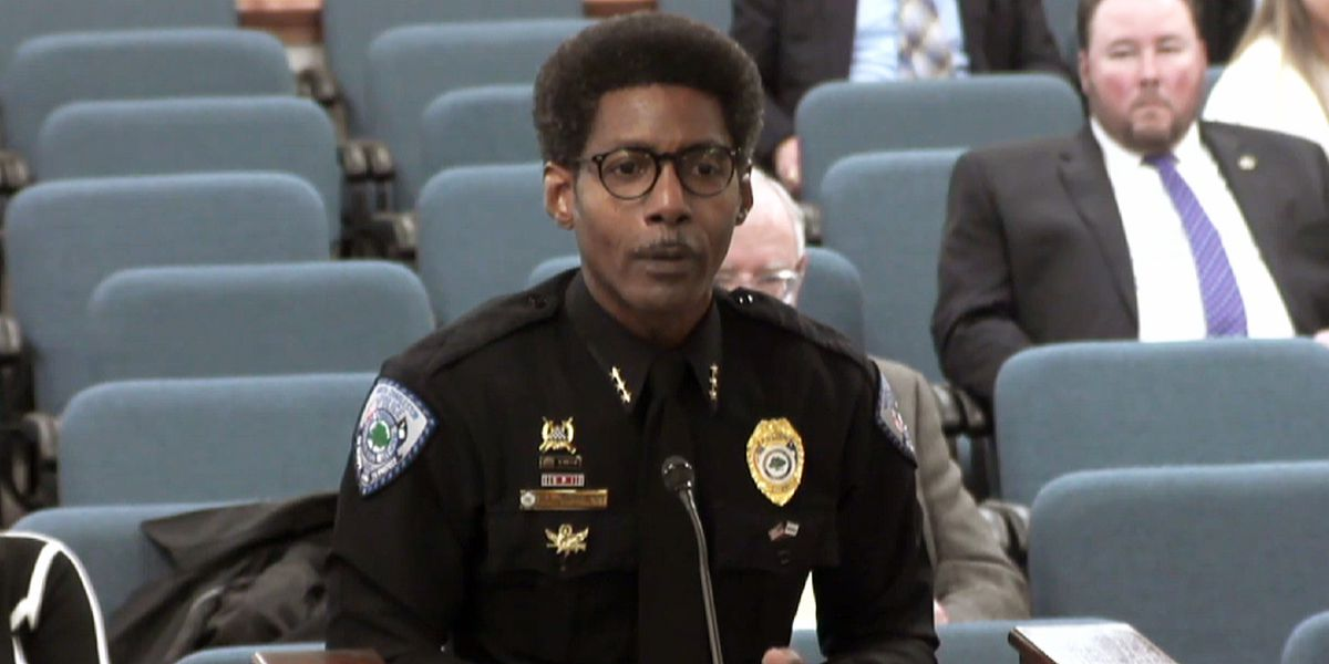 NCPD chief makes pitch to senate subcommittee to lead Department of Public Safety