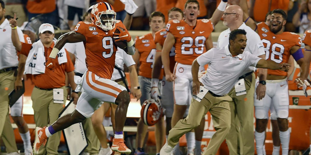 AP Top 25: Clemson No. 1, followed by Ohio State, Alabama