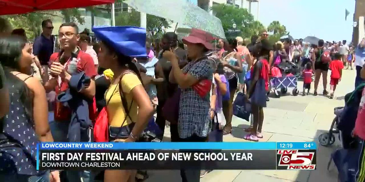 VIDEO: City of Charleston to hand out free school supplies at yearly First Day Festival