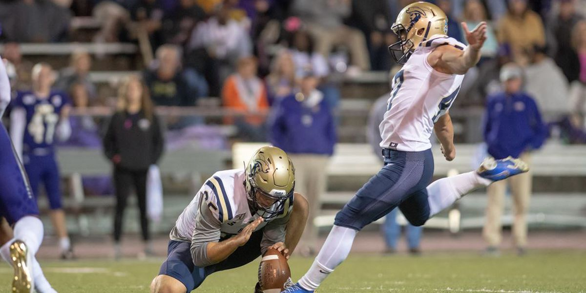 Wilson's TD wins it, Charleston Southern beats UNA 25-20