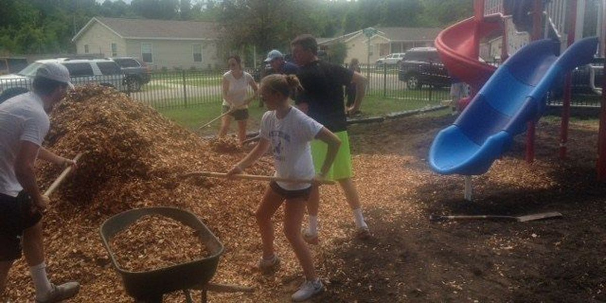 Community rebuilds Johns Island playground destroyed by fire