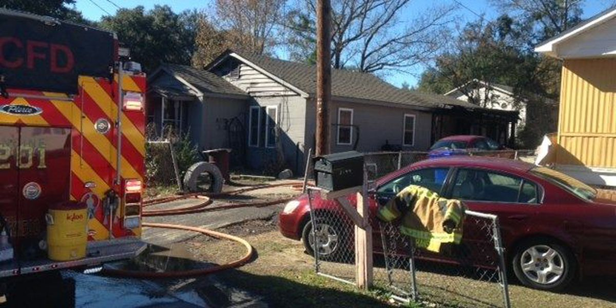 Family of six displaced in North Charleston fire
