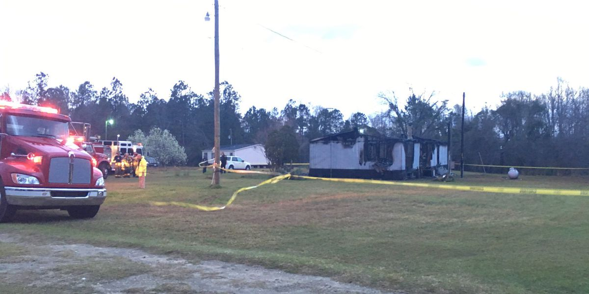 Mother, son and daughter die in St. Stephen mobile home fire