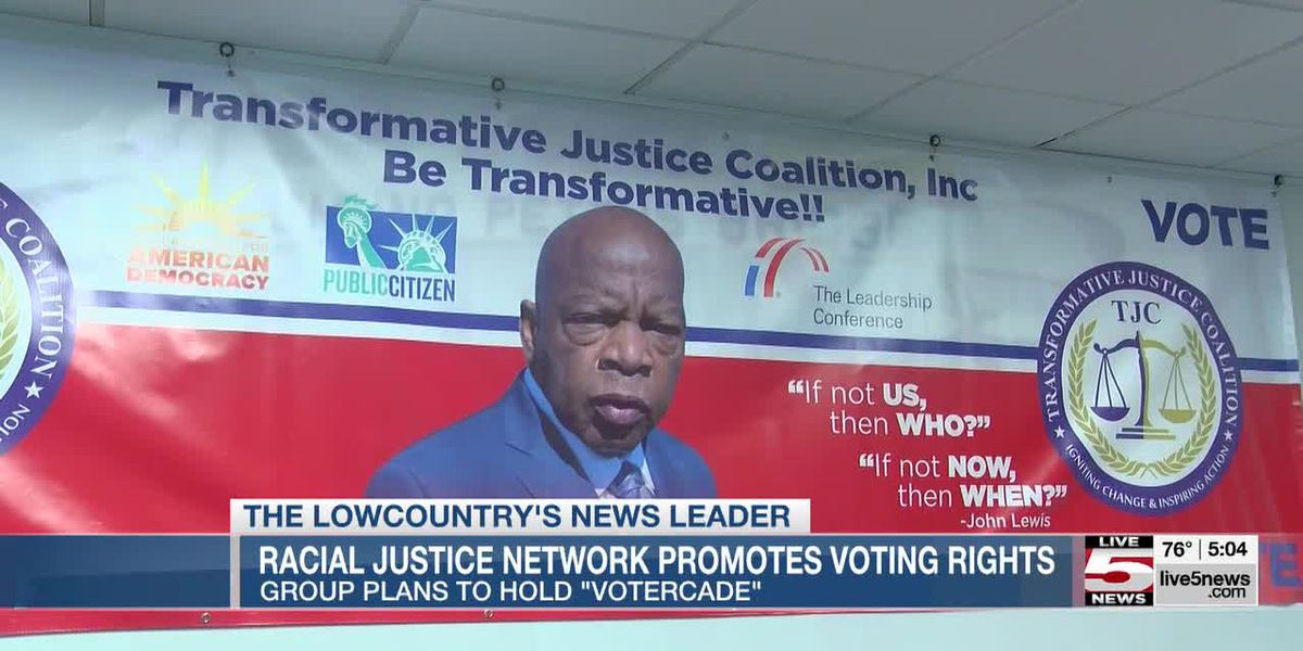 VIDEO: Charleston activists to hold 'votercade' Saturday as part of voting rights push