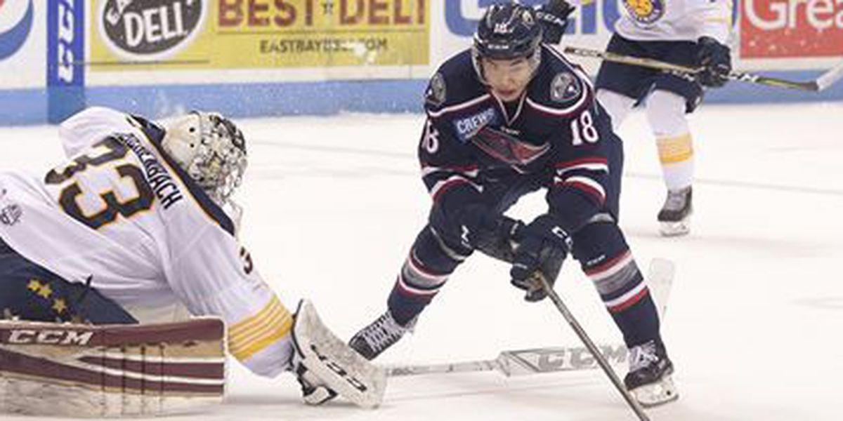 Stingrays make it a weekend sweep with 3-1 win Sunday
