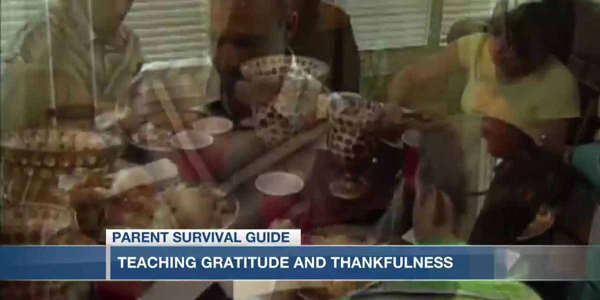 VIDEO: Parent Survival Guide: Teaching kids gratitude and thankfulness