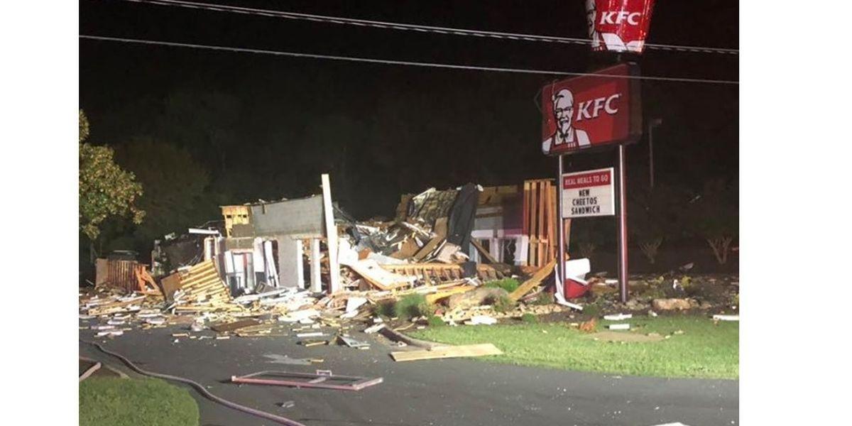 Explosion levels North Carolina KFC