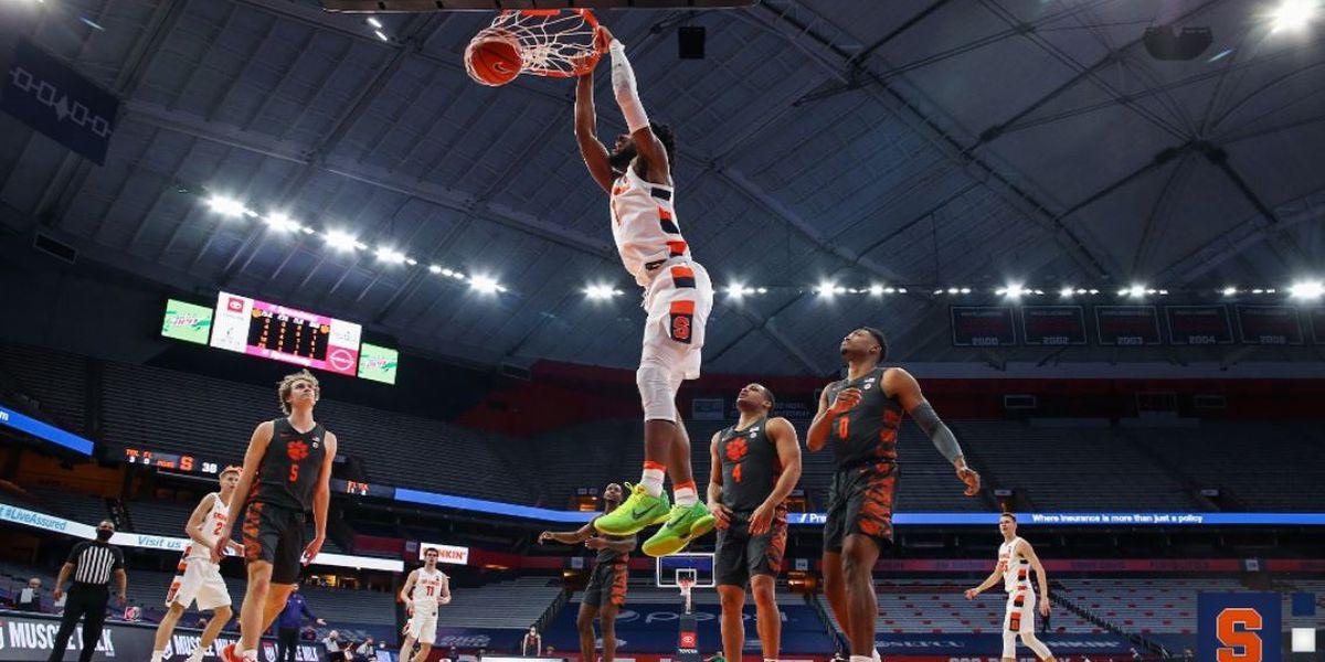 Griffin, Boeheim lead Syracuse past Clemson 64-54