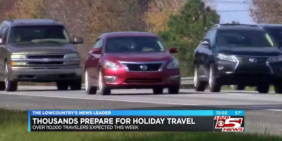 VIDEO: Thousands travelling for Thanksgiving holiday
