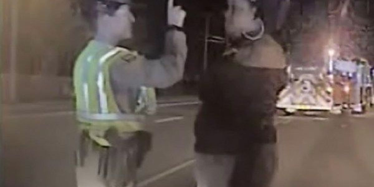 Video released of suspect's sobriety test in accident that killed off-duty police officer