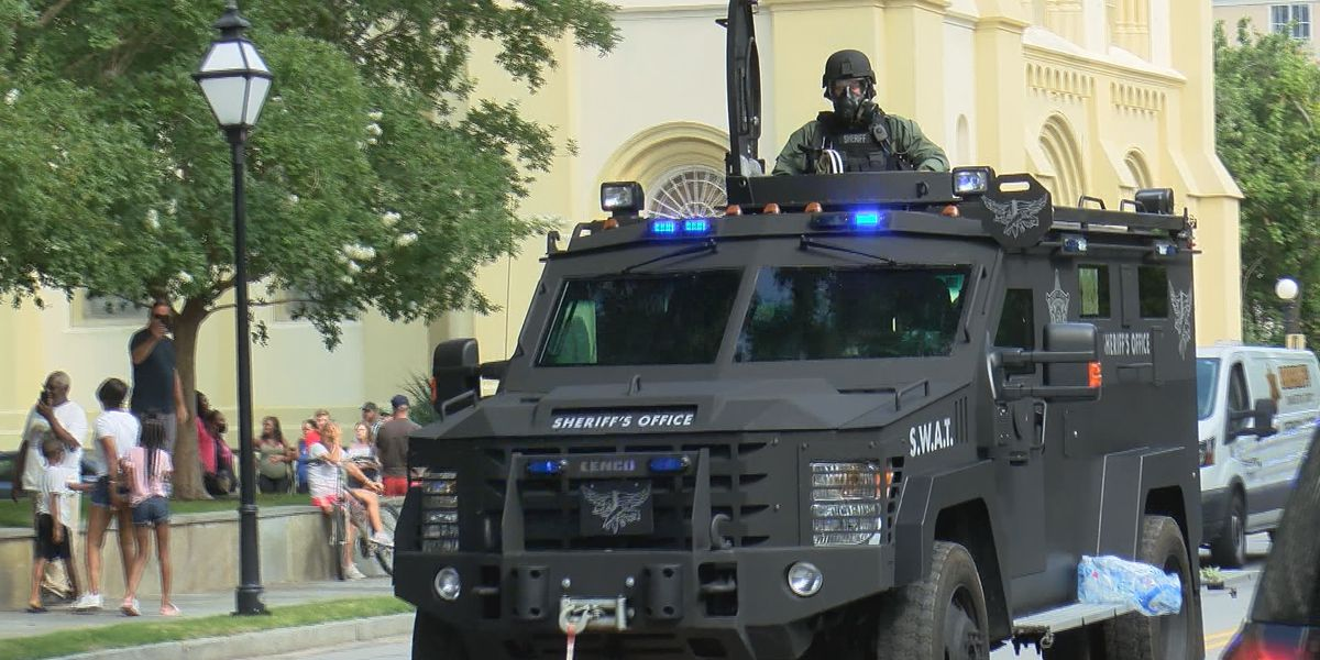 Local law enforcement agencies using hundreds of pieces of military-grade equipment