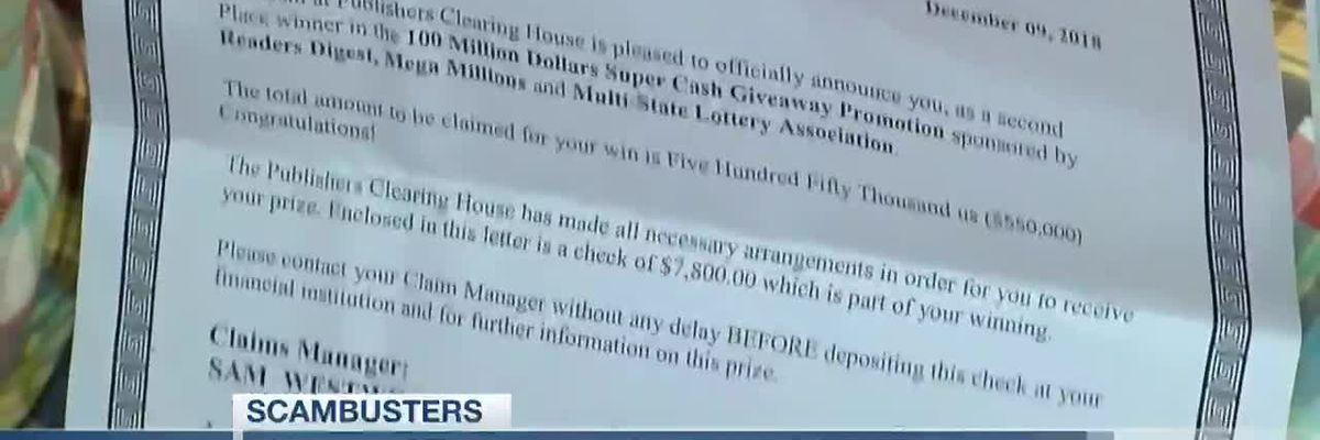 Live 5 Scambusters: BBB says sweepstakes scams are using the COVID-19 pandemic, targeting seniors