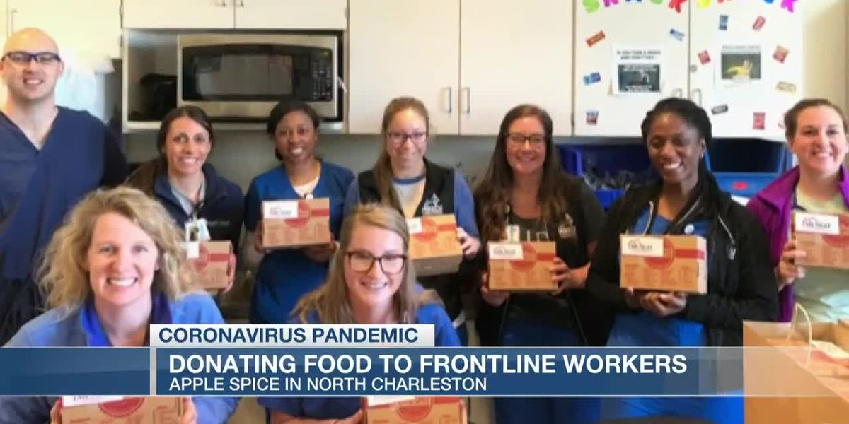 VIDEO: New program encourages people to donate food to frontline workers