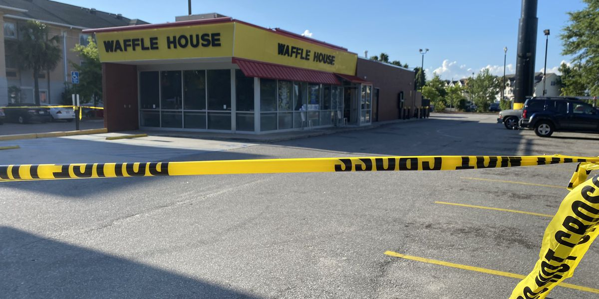 Coroner identifies Waffle House employee killed in shooting outside restaurant