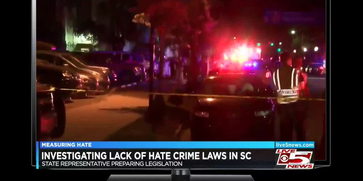 South Carolina is one of five states with no hate crime laws