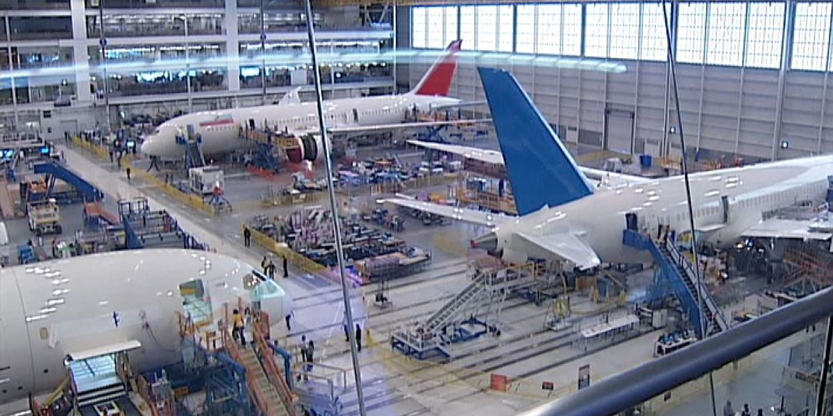 Boeing hiring more employees as it prepares to increase Dreamliner production