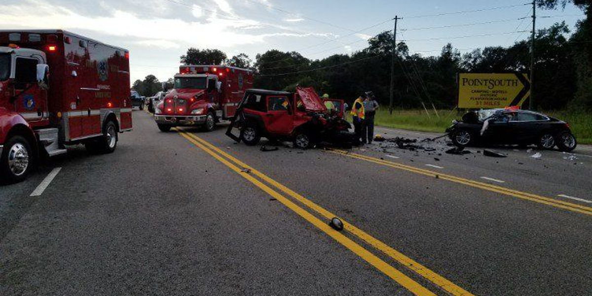 Colleton Fire: One lane reopen after crash on Hwy 17