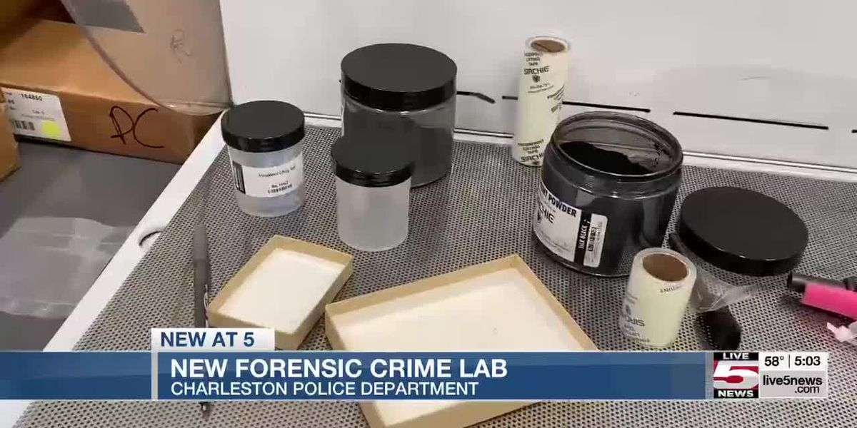VIDEO: New Charleston Police forensic services facility expediting investigations