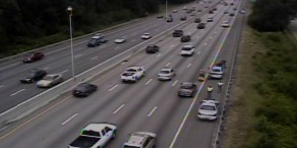 Traffic sluggish after pair of accidents cleared on I-26