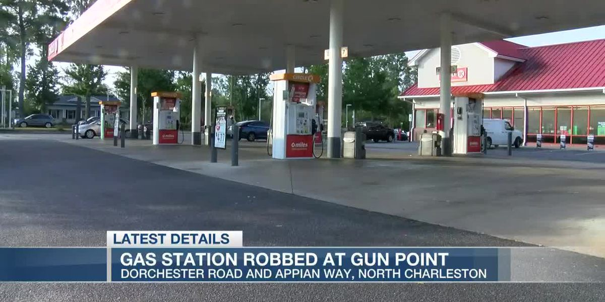 VIDEO: Deputies investigating early-morning gas station robbery