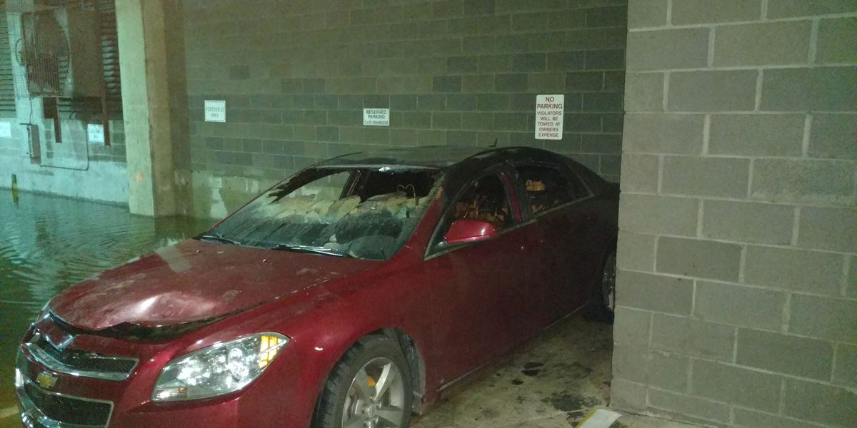 Authorities investigating after someone intentionally sets fire to car in Charleston