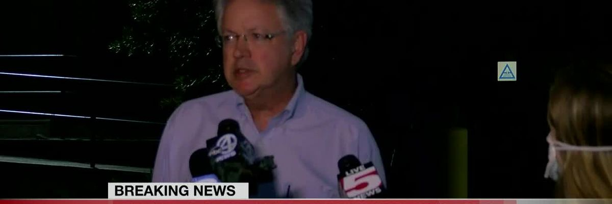 VIDEO: Charleston mayor calls for countywide curfew following hours of protests